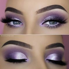 Smoke Eye Makeup, Purple Eye Makeup, Eye Makeup Tips, Eyeshadow Makeup, Makeup Ideas, Makeup Geek, Makeup Hacks, Purple Eyeshadow Looks, Purple Makeup Looks