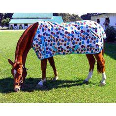 Chocolate Dots Pony Turnout Sheet