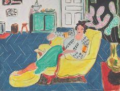 """Interessante #mostra presso Palazzo dei Diamanti a #Ferrara dedicata al genio di Henri Matisse - """"Donna in Poltrona"""" (1940)"""
