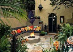 Salon Interieur Bain Salle Marocain Chambre Pour Deco Jardin ...