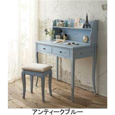 アンティーク風デスクPB かわいい姫系インテリア家具・姫系雑貨の通販 ロマプリ・ロマンティックプリンセス