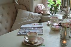 My kitchen nook Kitchen Nook, Perfect Place, Tableware, Home, Dinnerware, House, Kitchen Corner Bench, Dishes, Ad Home