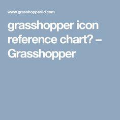 grasshopper icon reference chart? – Grasshopper