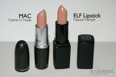 Makeup Lovers Unite! Mac and ELF Lipstick