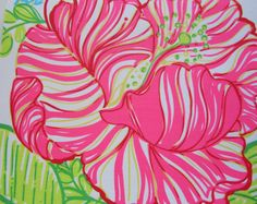 Lilly Pulitzer fabric White Boca Chica by fabriclillystyle on Etsy, $9.99