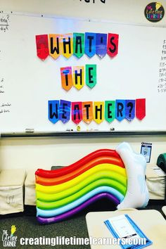 Check out this fun weather classroom transformation for elementary students. It includes many engaging math activities. This weather room transformation is for math stations, centers, rotations, review, test prep, early fast finishers, or escape room. It's a worksheet alternative, enrichment, remediation, individual kids, small groups, or partners. For 1st, 2nd, 3rd, 4th, 5th grade. Many ideas & themes. (Easy for Year 1, 2, 3, 4, 5, 6 or first, second, third, fourth, fifth graders).