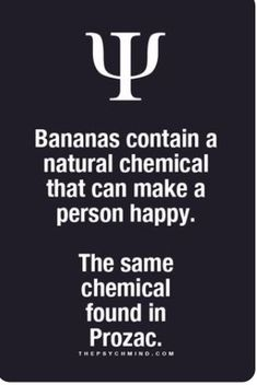 People eat more bananas !