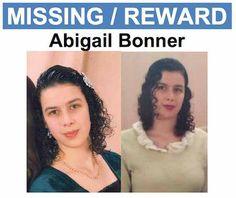 "REWARD $25,000  MISSING TEEN  ""ABIGAIL BONNER"""