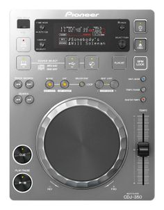 (Limited Supply) Click Image Above: Pioneer Cdj-350 Digital Multi Player (silver) Silver Multi Format Playback