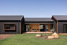 Gallery page for Lurie Concepts Building Design. Architecture inspires - check o.Gallery page for Lurie Concepts Building Design. Architecture inspires - check out our diverse portfolio House Cladding, Exterior Cladding, Facade House, Modern Barn House, Pole Barn Homes, Shed Homes, Building A Shed, Building Plans, House Goals