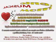 Chat Brasil Brasil (11) 3181-4011  USA (619) 868 4765 PORTUGAL 21 212 8720 MÉXICO (1-619) 868 4765  : MOMENTO MUSICAL! LOGO MAIS NO CHAT BRASIL INTERNAC...