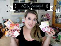 Huge Beauty 5K Giveaway! | High End and Drugstore!