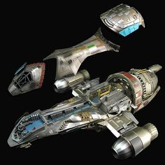 I was thinking the other day how the Firefly world is Steampunk'sh - here's Serenity 1:250 Scale Cutaway Replica
