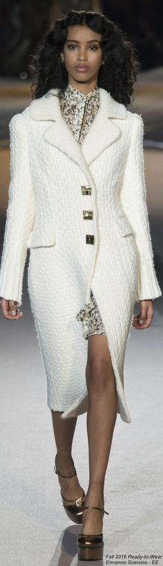 Fall 2016 Ready-to-Wear Ermanno Scervino