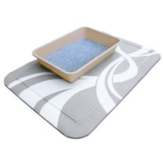 """PetFusion SmartGrip Cat Litter Mat. X LARGE 35 x 24"""". [You can have confidence in our reviews. We do NOT buy 'unverified' reviews]"""
