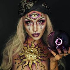 30+ Creepy And Cool Halloween Makeup Ideas In 2019  ||  Looking for creepy and cool halloween makeup ideas? Check out the incredible looks from these creative makeup artists. Halloween is just around the corner, and for many, that means it's time to get creative. If you want to amaze and terrify fellow guests at the Halloween party, Halloween makeup is the perfect way to show off your creativity, but still allows you to save time and money. ...