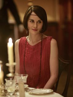 Michelle Dockery as Lady Mary Talbot in Downton Abbey (2015 Christmas Special).