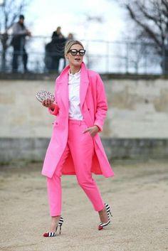 Розовый цвет в образах