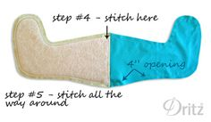 Sewing Tutorial: Make a Lined Christmas Stocking  Method to make lined (no batting) stockings with no cuff.  Will make own pattern by tracing existing stocking.
