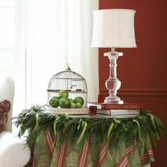 Cheap Christmas Table Decorations | And Cheap Christmas Decorating Design Christmas Stylish Side Table ...