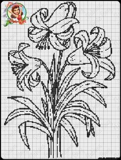 Cross Stitch Rose, Cross Stitch Borders, Cross Stitch Samplers, Cross Stitch Flowers, Cross Stitching, Cross Stitch Embroidery, Cross Stitch Patterns, Loom Patterns, Crochet Patterns