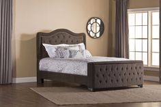 Trieste Storage Panel Bed #Contemporary