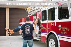 #angelagerberphotography #fireman #engagement
