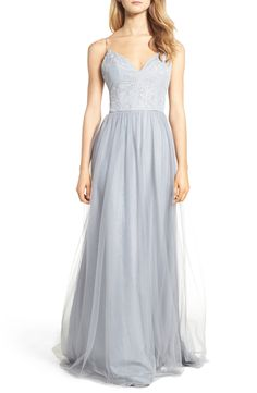 aa7beb31eb97 New Hayley Paige Occasions Metallic Embellished Gown