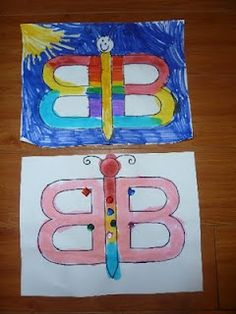 B is for butterfly activities