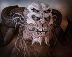 Possessional Demonology by $techgnotic on deviantART Creepy demon images