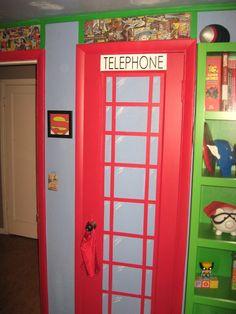 """superhero room - Google Search"" --imagine a blue police box instead!"