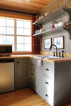 attic kitchenette