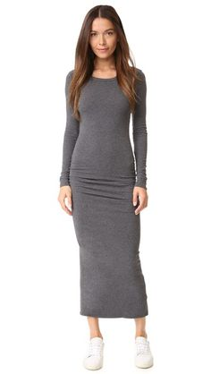 James Perse Skinny Split Dress