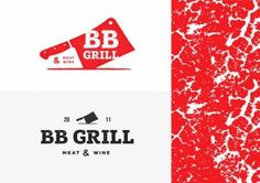 BB Grill - logo by Yana Klochihina Pioneer Woman Mashed Potatoes, Carnicerias Ideas, Grill Logo, Marketing, Meat Restaurant, Branding Design, Logo Design, Healthy Meat Recipes, Candy Apple Red