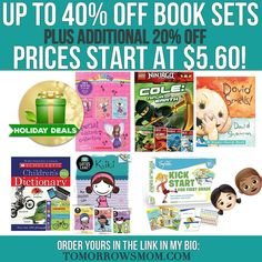 Don't forget to gift books GO to link in my bio @tomorrowsmom find & click on this pic to get yours! These are bundle deals plus additional 20% off . If you click on the link in my bio @tomorrowsmom you will find the deets but feel free 2 comment below . Visit My Blog: TomorrowsMom.com |Organic & Natural Deals|Family Savings Deals| . TAG OR DM THIS DEAL 2 A FRIEND . . #frugal #savings #deals #cosmicmothers  #organic #fitmom #health101 #change #nongmo #organiclife #crunchymama #organicmom…