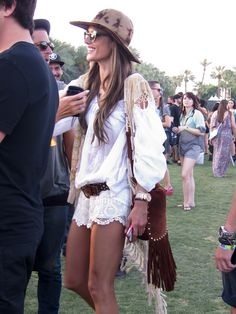 Oh hello! Alessandra Ambrosio gorgeous as usual #Coachella 2013