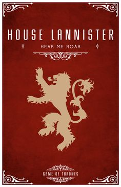 Are you a fan of Game of Thrones? Then you are going to love this amazing Game of Thrones poster series. Game Of Thrones Poster, Game Of Thrones Party, Game Of Thrones Series, Game Of Thrones Fans, Valar Morghulis, Casas Game Of Thrones, Poster Minimalista, House Sigil, Casterly Rock