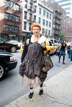 Lynn Yaeger dress with cardigan