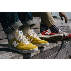 New Balance Collection: Looking through its vast archives, New Balance has decided to reintroduce its 1979 made-for-tennis Tennis Sneakers, Sneakers Mode, Sneakers Style, Fashion Socks, Sneakers Fashion, New Shoes, Men's Shoes, Sneaker Games, Gents Fashion