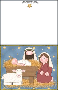 One example of many free printable Christmas cards and other cards. ~ Also have free envelopes that fit and match.