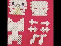 [Perler Beads]How to build a 3D Cat by Asami Nagasaki