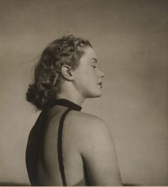'Only to taste the warmth, the light, the wind', (circa 1939) by Olive Cotton