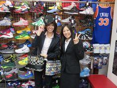 【新宿2号店】2014.10.08 セインツファンのお客様です(*´ェ`*)CAPが可愛くキマってました!!選手を覚えるのはこれからですねw