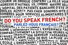 des mots français