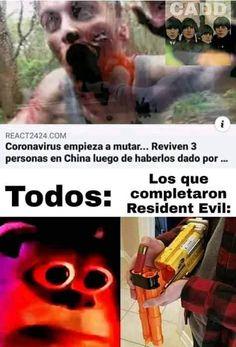 Memes Estúpidos, Funny Video Memes, Stupid Funny Memes, Best Memes, Resident Evil, Funny Face Swap, Dont Hug Me, Spanish Memes, Marvel Memes
