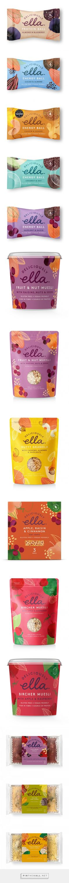 Deliciously Ella on Packaging of the World - Creative Package Design Gallery - created on Design Poster, Graphic Design Branding, Label Design, Identity Design, Brochure Design, Package Design, Visual Identity, Food Branding, Food Packaging Design