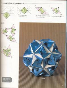 Adobracya: Diagrama Do Kusudama Kaabu