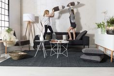 Tripod Lamp Wood - Zuiver - wit