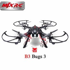 MJX B3 Bugs 3 RC Quadcopter Brushless Motor 2.4G 6-Axis RC Drone With Camera Mounts for Gopro/Xiaomi/Xiaoyi Camera Children Toys #Affiliate