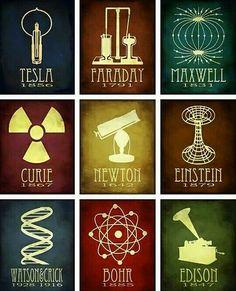 Grandes Físicos e seus Feitos!
